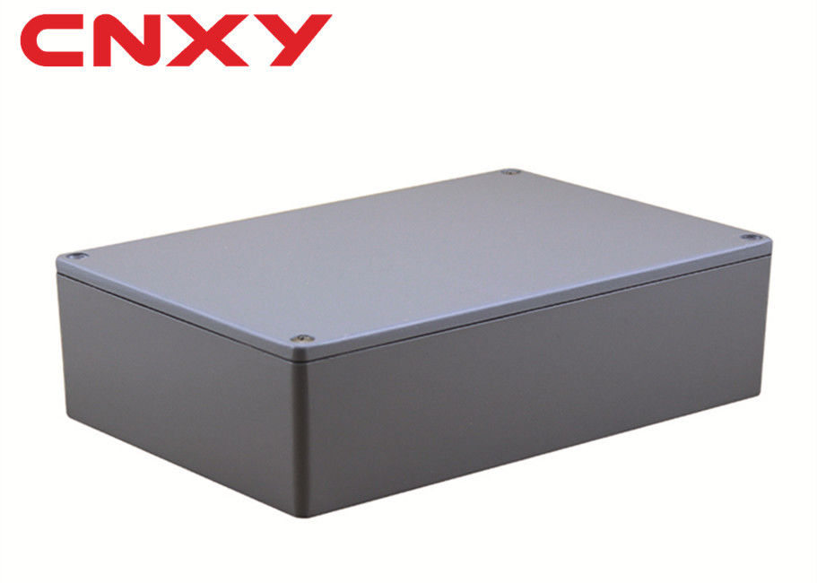 Dustproof Electronic Instrument Enclosures , IP65 Aluminium Terminal Box